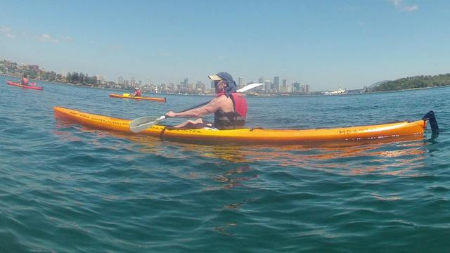 Kayak, Swim and Picnic on Sydney Harbour