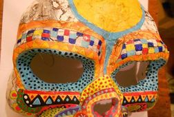 Mask Making in Old Mexican Tradition!