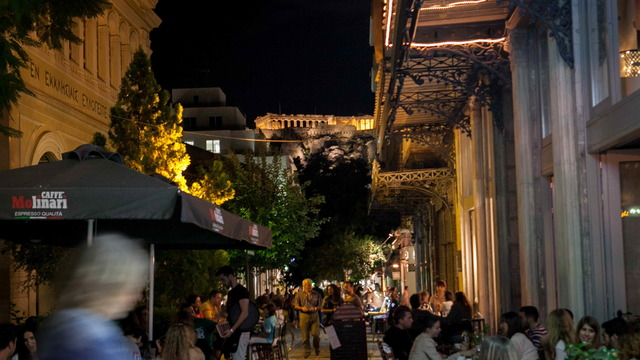 Private Athens by Night Bar Hopping