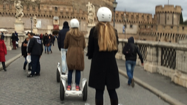 Rome Half-Day Private Segway Tour of His