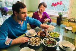 Wang's Table, Lunch at a Chinese Home