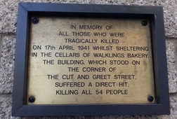 London Blitz Memorial Walk: Southwark