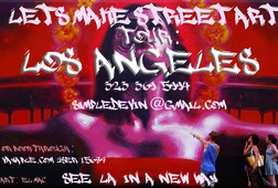 Make Street Art Tour of Los Angeles