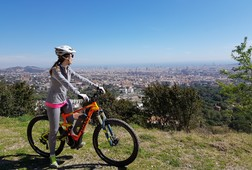 Electric Mountain Bike Panoramic Views