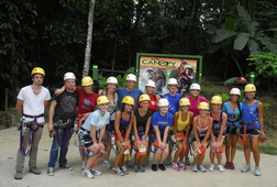 Zip Line Through the Rainforest Canopy!
