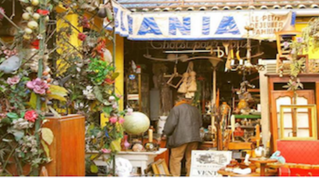 Paris Flea Market Guided Tour