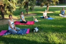 Summer FLOW Yoga in the Valencia Park