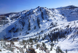 Skiing at Squaw Valley