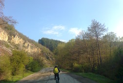 Cycling North-East of Sofia