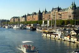 City Tour of Stockholm on My Motorcycle